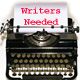 Writers needed